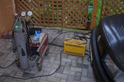 DotDot(..)`s Quickgas-Schweißanlage